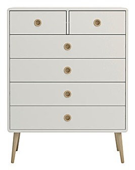 Calico 4+2 Drawer Chest