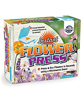 My Living World Instant Flower Press