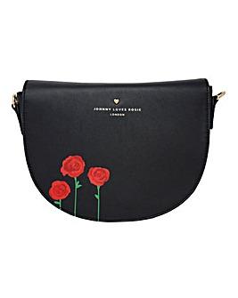 Johnny Loves Rosie Saddle Bag