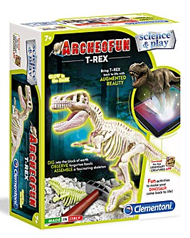 Clementoni Archeofun T-Rex Glow in the Dark