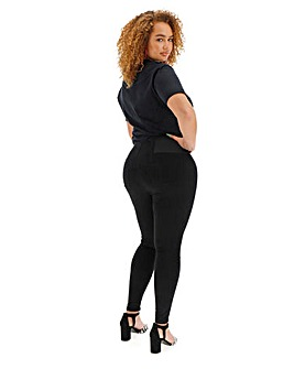 High Waist Corset Front Shaper Jegging