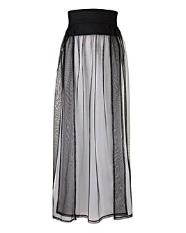 Joanna Hope Paradise Mesh Beach Skirt