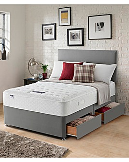 Silentnight Miracoil 7 Luxury Supercomfort Divan with Four Drawers