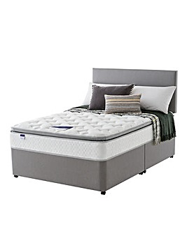 Silentnight Pillowtop Memory Divan