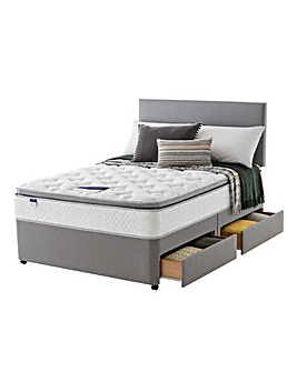 Silentnight Pillowtop 4 Drawer Divan