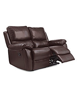 Bentley Leather 2 Seater Recliner Sofa