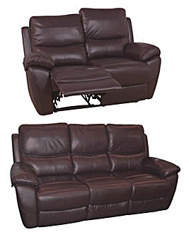 Bentley Leather 3 Seater Plus 2 Seater