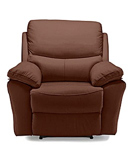 Arezzo Leather Recliner Chair