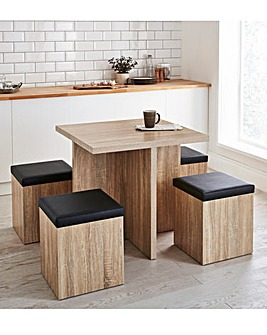 Michigan Space-Saver Hideaway Dining Set