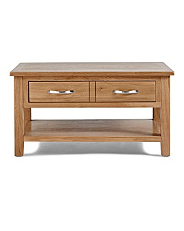 Harrogate Oak Veneer Coffee Table