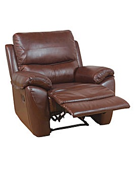 Bentley Leather Recliner Armchair