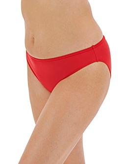 Ruche Detail Bikini Breif
