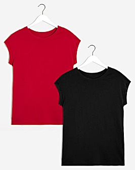 Pack of 2 Boyfriend T-shirts