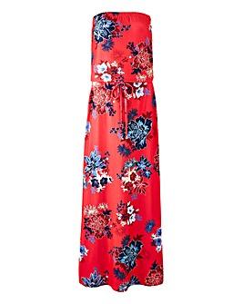 Petite Maxi Bandeau Dress