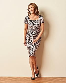 Leopard Print Shape and Sculpt Dress