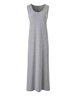 Sleeveless T-Shirt Maxi Dress
