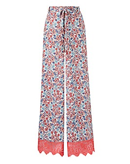 Lovedrobe Floral Palazzo Trouser