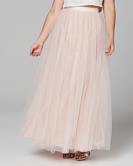 Coast Tulle Maxi Skirt