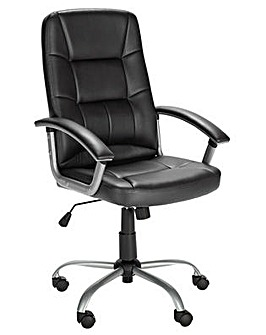 Walker Office Chair - Black