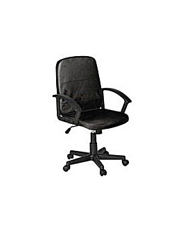 Brixham Managers Office Chair - Black