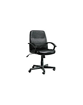 Brixham Faux Leather Office Chair