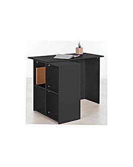 Calgary Corner Desk - Black