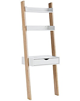 Ladder Desk - White