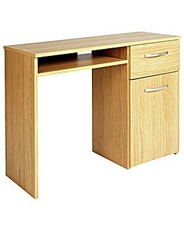HOME Hayward Office Desk - Oak Effect