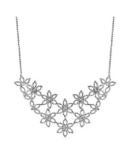 Mood Flower Statement Necklace