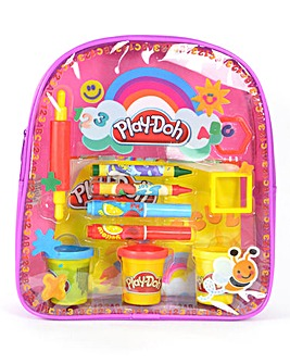 Play-Doh Activity Backpack Pink