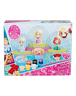 Princess Paint Your Own Glitter Dome