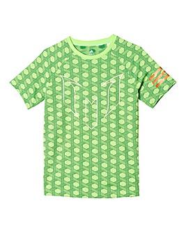 adidas Youth Boys Messi Printed T-Shirt