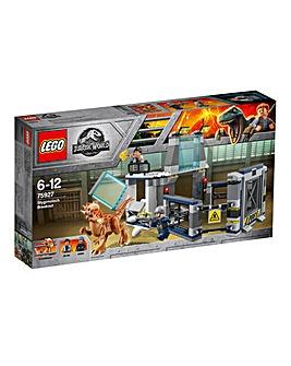 LEGO JW Stygimoloch Laboratory Breakout