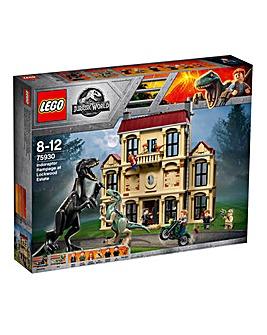 LEGO Indoraptor Rampage at Lockwood