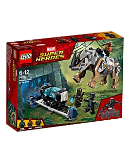 LEGO Marvel Rhino Face-Off by the Mine