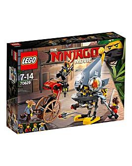 LEGO The NINJAGO Movie Piranha Attack