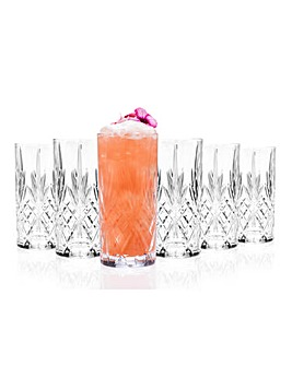 Melodia RCR Crystal Highball Glasses