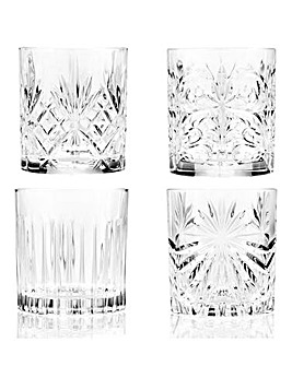 Mixology RCR Crystal Set of 4 Glasses