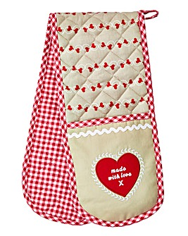 Homemade With Love Double Oven Glove