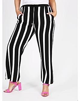 Lovedrobe GB Stripe Crepe Trousers