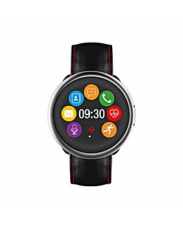 MyKronoz ZeRound 2 HR Premium Smartwatch with Heart Rate Monitor