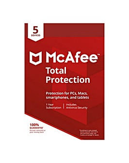 McAfee Total Protection 1 Year 5 User
