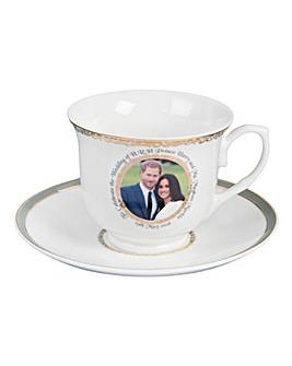 Royal Wedding Bone China Cup & Saucer