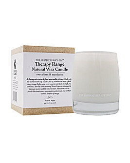 Therapy Range Natural Wax Candle