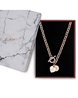Lipsy Heart Charm Gift Necklace