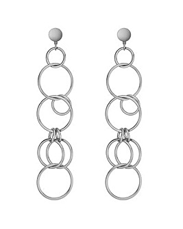 Mood Multi Hoop Drop Earring