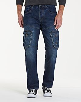 Firetrap Petri Cargo Jeans 29
