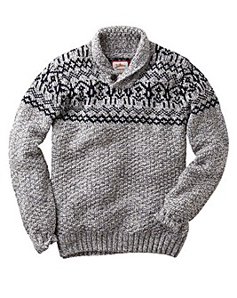 Joe Browns On The Piste Shawl Jumper