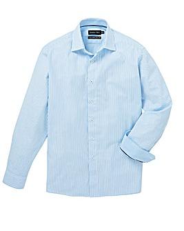Double Two Blue L/S Stripe Shirt R