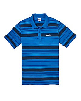 Ellesse Novazzi Engineered Stripe Polo Regular